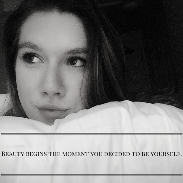 Beauty begins the moment you decided to be yourself.